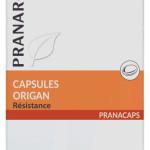 Huile essentielle d'origan capsules les essentielles du clos