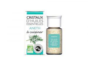 cristaux d'huiles essentielles aneth