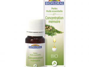perlesaux huiles essentielles concentration mémoire bio