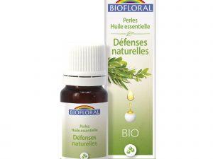 défenses naturelles perles aux huiles essentielles bio