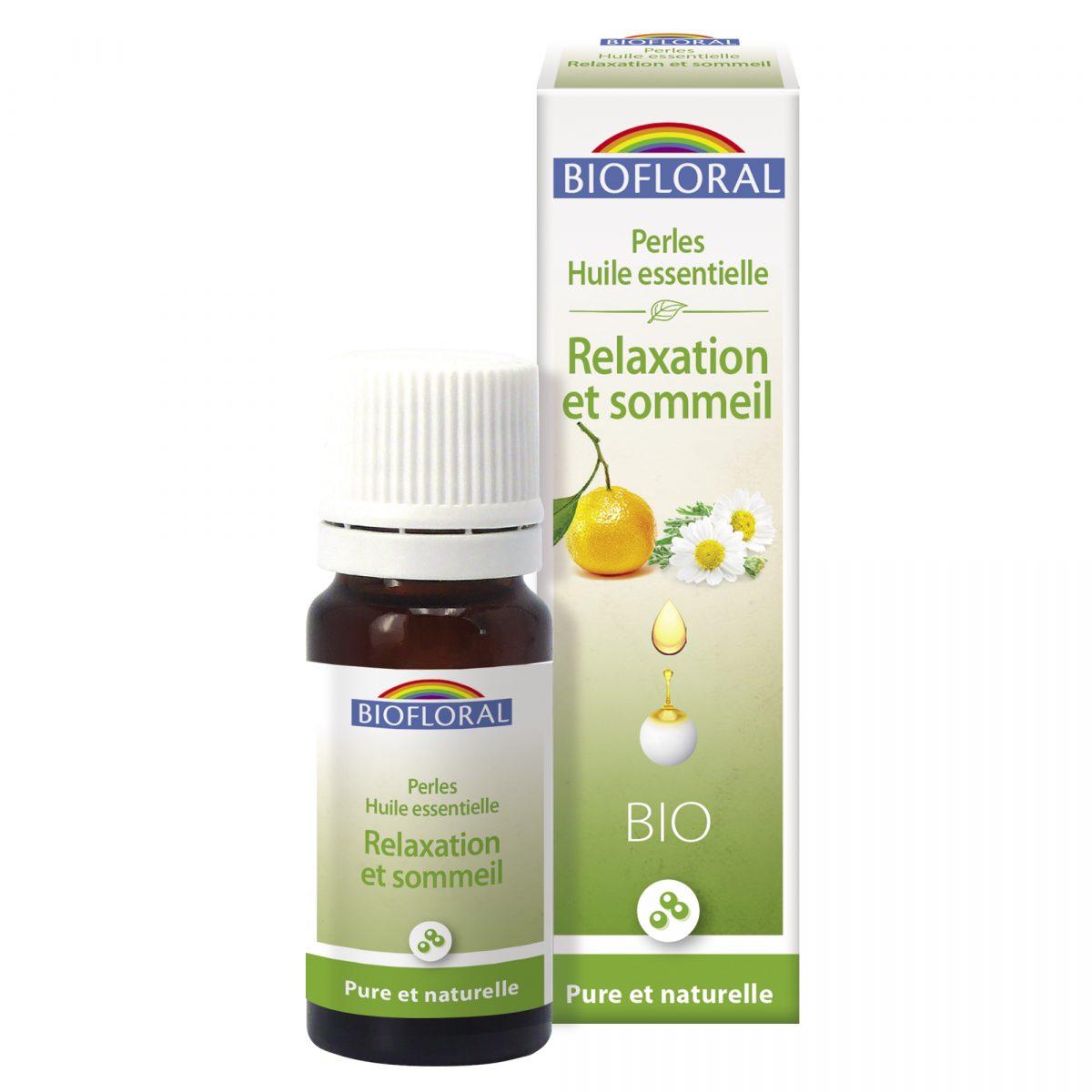 relaxation et sommeil perles aux huiles essentielles bio
